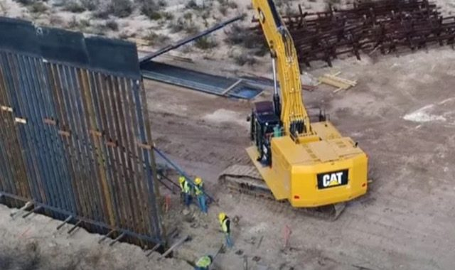 Texas governor announces state will build its own border wall to keep illegal immigrant crossings from exploding