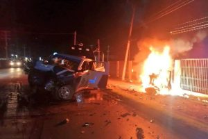 GRAPHIC: Three Cartel Gunmen Incinerated During Border City Shootouts in Mexico