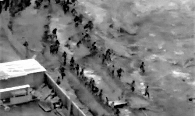 1100 Migrants Apprehended After 'Breaching Old Barrier,' Says Border Patrol